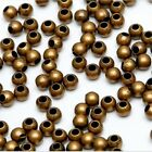 1000pieces Metal Round Spacer Beads Diy Craft Jewelry Findings 3mm