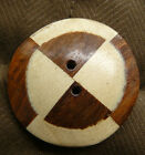 Large Button Wooden Inlay Square Round Oval Triangle Coatouterwear