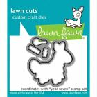 Lawn Fawn Stamps Or Die Set - Year Seven Lf1338 Stamps Or Lf1339 Dies