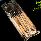 22pcs Pottery Clay Wax Sculpting Polymer Modeling Carving Tools Craft Kit Xmas