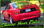 1999 2000 2001 2002 2003 2004 Ford Mustang Trunk Blackout Decal Gt