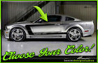 2005 2006 2007 2008 2009 Ford Mustang Side C Stripe Graphics