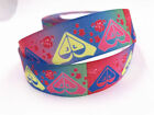 Wholesale 150yds 1 25mm Printed Grosgrain Ribbon Hair Bow Sewing Crafts