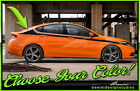 Side Racing Stripes Graphics Style 2 - Fits 2013-2016 Dodge Dart