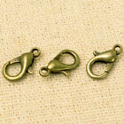 Hg 50pcs 12mm Silver Plated Lobster Clasps Claw Jewelry Fastener Hook Finding