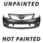 New Painted To Match Front Bumper For 2011-2013 Toyota Corolla W Spoiler Holes
