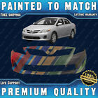 New Painted To Match Front Bumper Cover For 2011-2013 Toyota Corolla Ce Le 11-13