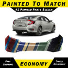 Painted To Match - Rear Bumper Cover Exact Fit 2016-2020 Honda Civic Sedan 16-20