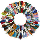 New Lot 100 Multi Colors Cross Stitch Polyester Embroidery Thread Floss Sewing