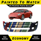 Painted To Match Front Bumper Replacement For 2002-2005 Mitsubishi Eclipse W Fog