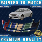 New Painted To Match - Front Bumper Replacement For 2005-2006 Infiniti G35 Sedan