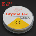 0.5 0.6 0.8 1mm Clear Elastic Stretch Wire Jewellery Beading Cord Thread String