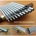 Professional Leather Craft Tool Punch Stitching Carving Groover Awl Edge Creaser
