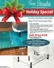 Viking Sew Steady Perfect Large Holiday Extension Table Package
