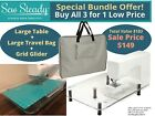 Janome Sew Steady 18x24 Large Extension Table Bag Grid - Choose Model