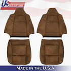 Front Leather Seat Cover 2003 2004 2005 2006 2007 Ford F250 F350 450 King Ranch