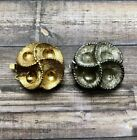 Vintage Japanese Spiral Box Clasp Mcl13