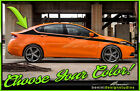 Side Racing Stripes Graphics Style 1 - Fits 2013-2016 Dodge Dart