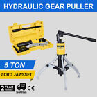 3in1 Hydraulic Gear Puller Pumps Oil Tube 3 Jaws Drawing Machine 5t 10t 15t Us