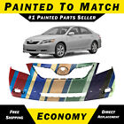 New Painted To Match Front Bumper Cover Direct Fit For 2007-2009 Toyota Camry Se