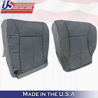 Wt Regular Cab 1998 To 2002 Dodge Ram 1500 Slt Front Cloth Seat Covers Gray