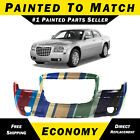 New Painted To Match Front Bumper For 2005-2010 Chrysler 300 Touring Limited 3.5