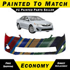 Painted To Match Front Bumper Cover Replacement For 2012 2013 2014 Toyota Camry
