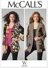 M7132 Mccalls Sewing Pattern Misses 4-26 Scrappy Coat Of Many Colors Jacket