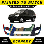 New Painted To Match Front Bumper Replacement For 2009 2010 Kia Sportage Lx