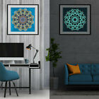 Diy 5d Luminous Special Shape Glow Diamond Painting Xmas Gifts Home Art Decor