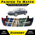 New Painted To Match Front Bumper Replacement For 2003 2004 Infiniti G35 Sedan