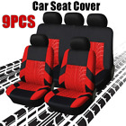 Universal Auto Seat Covers For Car Truck Suv Van Protectors Polyester 12 Color