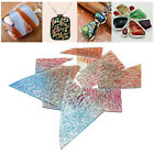 Fusing Glass Microwave Kiln Supplies Wave Mixed Color Fused Accessories