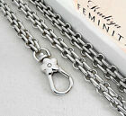 New 20-120 Cm Watch Chain For Handbag Or Strapping Bag Silver K887