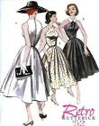 Oop Vintage Retro 1940s 1950s Butterick Sewing Pattern Rockabilly Vlv Misses