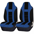 2pc Premium Universal Double Stitched Polyester Van High Back Seat Covers