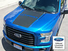 2015-2016 New Ford F-150 Hood Stripe Decal W F150 Logo Vinyl Stickers Graphics
