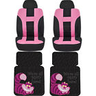 Official Licensed Cheshire Cat Floor Mats Uaa Seat Covers Universal Car Truck
