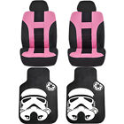 Official Licensed Star Wars Floor Mats Uaa Seat Covers Universal Car Truck New
