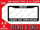 Drive License Plate Frame Japanese Decal Sticker - Illest Jdm Stance Low Drift