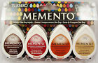 Tsukneko Memento Dew Drop Inkpads 4 Pack - Your Choice Of 1 Of 20 Ink Pad Sets