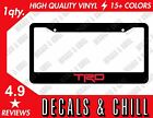 Trd License Plate Frame Decal Sticker - Tacoma Corolla Tundra Frs Gt86