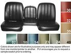 1967-68 Chevy Truck Seat Covers - Buckets Or Bench - Pui