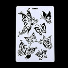 Butterfly Angle Stencils Template Painting Scrapbooking Stamps Album Diy Craft
