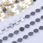 6mm Mini Disc Coin Chain Circle Design Chain For Necklace By The Yard 102364