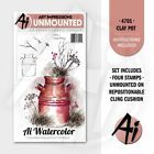 Ai Watercolor Stamps-art Impressions Rubber Stamping Craft-containeranimalskid