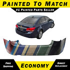 New Painted To Match Rear Bumper Exact Fit Fascia For 2011-15 Chevy Cruze 11-15