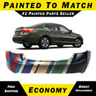 New Painted To Match - Rear Bumper Cover Exact Fit For 2013-2015 Honda Accord