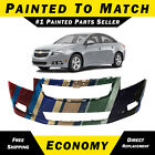 Painted To Match - Front Bumper Cover Replacement 2011-2014 Chevy Cruze Rs Trim