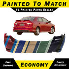 Painted To Match - Rear Bumper Replacement For 2011-2013 Toyota Corolla S Xrs
